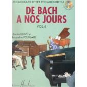 DE BACH A NOS JOURS VOL 4A PIANO