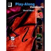 PLAY-ALONG VIOLONCELLO WORLD MUSIC