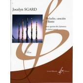 SGARD J. PRELUDIO CANCION Y ILANTO CLARINETTES