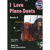 CUNNINGHAM P. I LOVE PIANO DUETS VOL 2 PIANO 4 MAINS