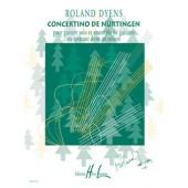 DYENS R. CONCERTINO DE NÜRTINGEN GUITARE SOLO ET ENSEMBLE DE GUITARES