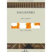 GALLINO J. ENCUENTRO 2 GUITARES