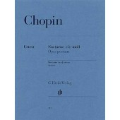 CHOPIN F. NOCTURNE N°20 OPUS POSTHUME PIANO