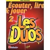 ECOUTER LIRE JOUER LES DUOS VOL 2 FLUTES