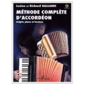 GALLIANO R. ET L. METHODE COMPLETE ACCORDEON
