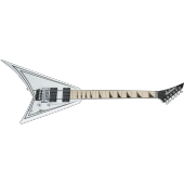 JACKSON RHOADS RRX24M WHITE WITH BLACK PINSTRIPES