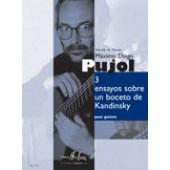 PUJOL M.D. ENSAYOS SOBRE UN BOCETO DE KANDINSKY GUITARE