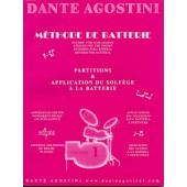 AGOSTINI DANTE METHODE DE BATTERIE VOL 1