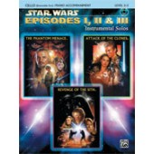 STAR WARS EPISODES I, II & III CELLO