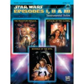 STAR WARS EPISODES I, II & III ACCOMPAGNEMENT PIANO