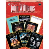 WILLIAMS J. THE VERY BEST OF INSTRUMENTAL SOLOS ACCOMPAGNEMENT PIANO