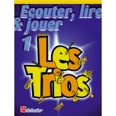 ECOUTER LIRE JOUER LES TRIOS VOL 1 TROMBONES (SOL)