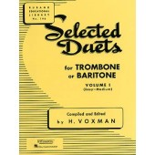 VOXMAN H. SELECTED DUETS VOL 1 TROMBONES