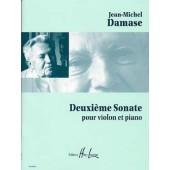 DAMASE J.M. 2ME SONATE VIOLON
