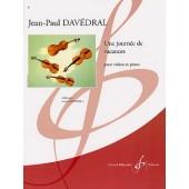 DAVEDRAL J.P. UNE JOURNEE DE VACANCES VIOLON