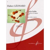 LEONARD H. SOLO OP 41 EN RE MAJEUR VIOLON