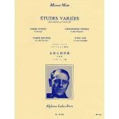 MULE M. ETUDES VARIEES SAXOPHONE