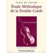 HAUCHARD M. ETUDE METHODIQUE DE LA DOUBLE CORDE VOL 2 VIOLON