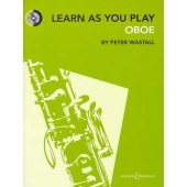 WASTALL P. LEARN AS YOU PLAY OBOE WITH CD
