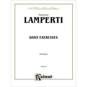 LAMPERTI F. DAILY EXERCISES CHANT