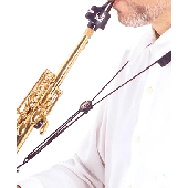 SANGLE SAXOPHONE BG S82M SOPRANO COURBE NYLON