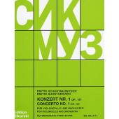 CHOSTAKOVITCH D. CONCERTO N°1 OP 107 VIOLONCELLE