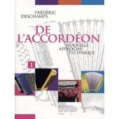 DESCHAMPS F. DE L'ACCORDEON 1