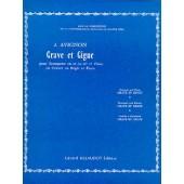 AVIGNON J. GRAVE ET GIGUE TROMPETTE