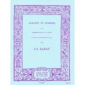 BARAT J. ANDANTE ET SCHERZO TROMPETTE