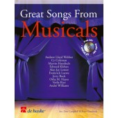 GREAT SONGS FROM MUSICALS TROMBONE OU EUPHONIUM