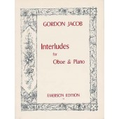 JACOB G. INTERLUDES HAUTBOIS