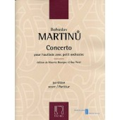 MARTINU B. CONCERTO HAUTBOIS CONDUCTEUR