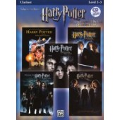 POTTER HARRY SELECTIONS INSTRUMENTAL SOLOS MOVIES 1-5 CLARINETTE