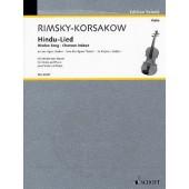RIMSKY-KORSAKOV N. CHANSON HINDOUE VIOLON