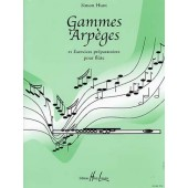 HUNT S. GAMMES ARPEGES FLUTE