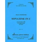 DONDEYNE D. SONATINE EN DO MAJEUR EUPHONIUM
