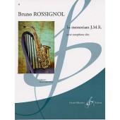 ROSSIGNOL B. IN MEMORIAM J.M.R.C. SAXO ALTO SOLO