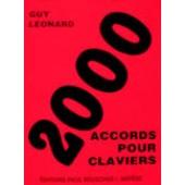 LEONARD G. 2000 ACCORDS POUR CLAVIERS