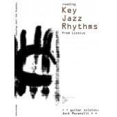 LIPSIUS F. READING KEY JAZZ RHYTHMS GUITARE
