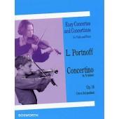 PORTNOFF L. CONCERTINO OP 14 VIOLON