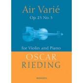RIEDING O. AIR VARIE VIOLON