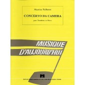 FAILLENOT M. CONCERTO DA CAMERA TROMBONE