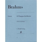 BRAHMS J. 51 EXERCICES PIANO