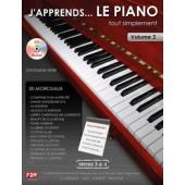 ASTIE C. J'APPRENDS ... LE PIANO VOL 2