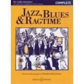 HUWS JONES E. JAZZ BLUES RAGTIME VIOLON COMPLETE