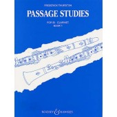 THURSTON F. PASSAGE STUDIES BOOK 1 CLARINETTE