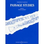 THURSTON F. PASSAGE STUDIES BOOK 2 CLARINETTE