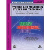 TANNER / WEBER STUDIES AND MELODIOUS ETUDES VOL 3 TROMBONE
