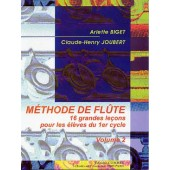 BIGET A./JOUBERT C.H. METHODE DE FLUTE VOL 2