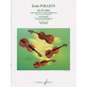 POILLEUX E. 20 ETUDES VIOLON